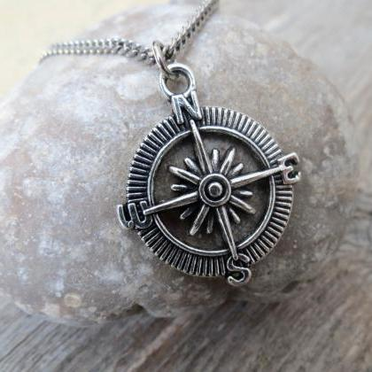 Men's Necklace - Men's Silver Neckl..