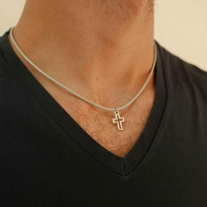 Men's Cross Pendant - Men's Cross N..