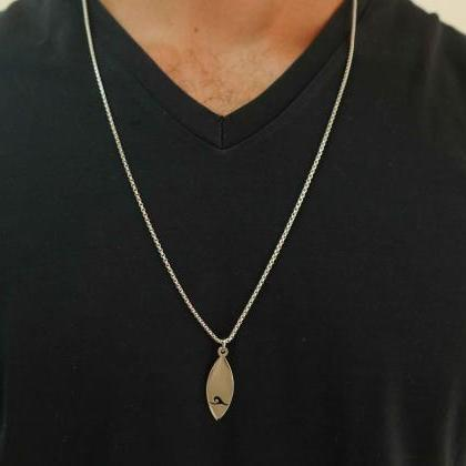 Men's Necklace - Men's Stainless St..