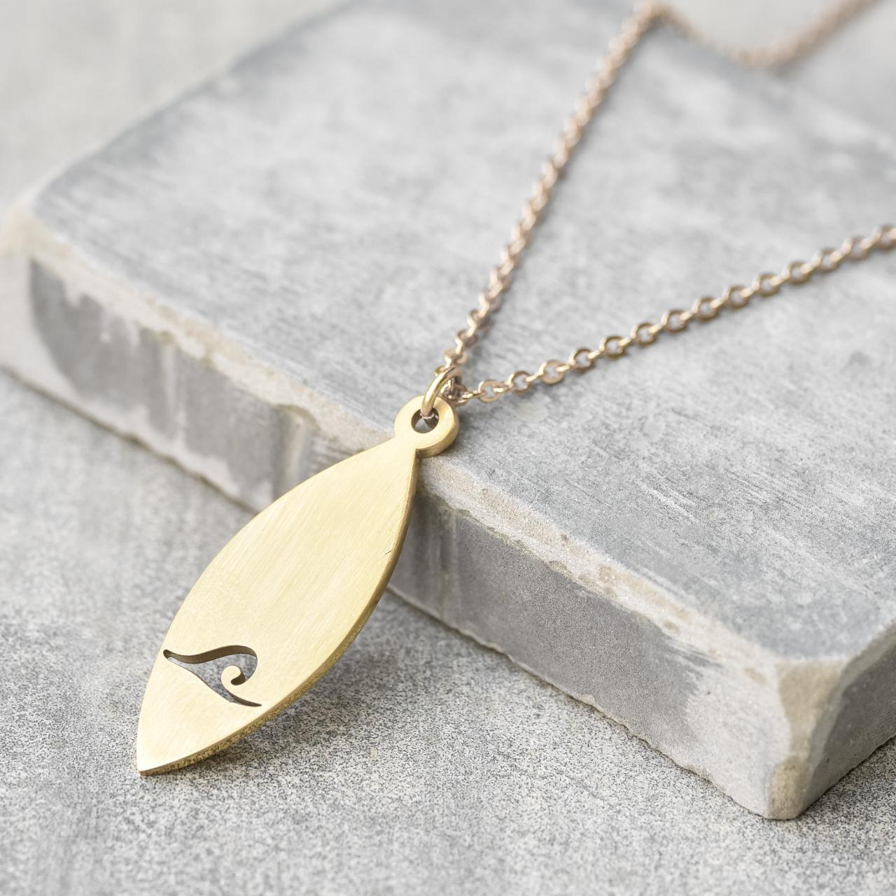 Men's Gold Necklace - Men's Stainless Steel Necklace - Men's Geometric Necklace - Men's Pendant - Men's Jewelry - Boyfriend Gift - Husband