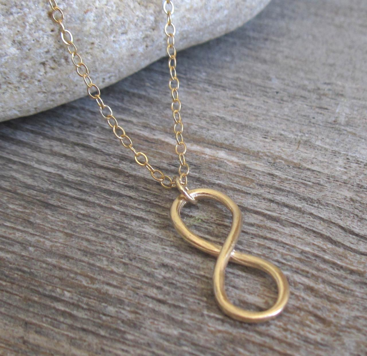 Men's Necklace - Men's Infinity Necklace - Men's Gold Necklace - Mens Jewelry - Necklaces For Men - Jewelry For Men - Gift for Him