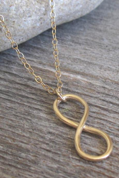 Men's Necklace - Men's Gold Necklace - Men Infinity Necklace - Men's Jewelry - Men's Gift - Boyfriend Gift - Husband Gift - Present For Men