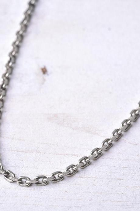 Men's Necklace - Men's Chain Necklace - Men's Silver Necklace - Mens Jewelry - Necklaces For Men - Jewelry For Men - Gift for Him