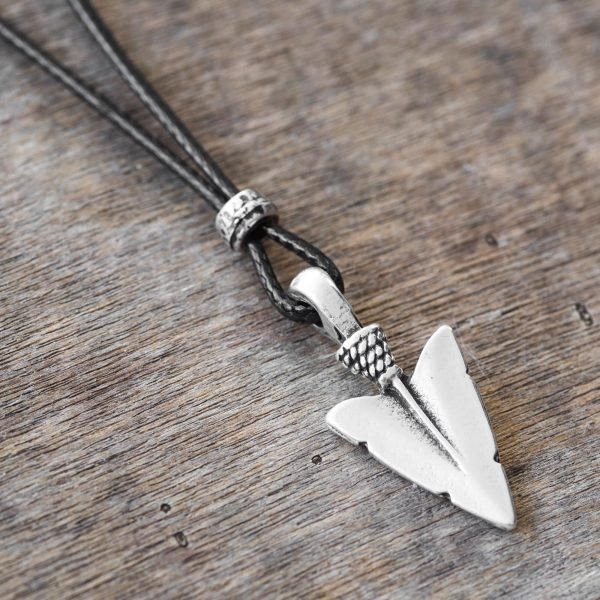 Men's Necklace - Men's Arrow Necklace - Men's Silver Necklace - Mens Jewelry - Necklaces For Men - Jewelry For Men - Gift for Him