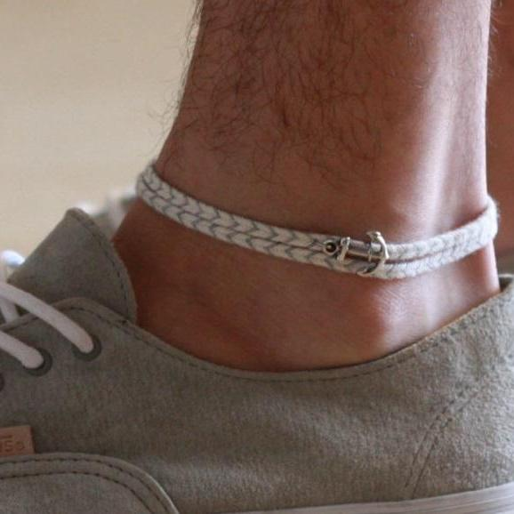 Men's Anklet - Men's Ankle bracelet - Anklet for Men - Ankle Bracelet For Men - Men's Jewelry - Men's Gift - Beach Jewelry - Summer Jewelry