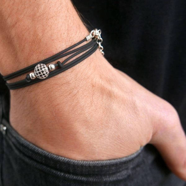 Men's Bracelet - Men's Beaded Bracelet - Men's Vegan Bracelet - Men's Jewelry - Men's Gift - Boyfriend Gift - Husband Gift - Gift For Dad